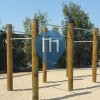 San Diego - Outdoor Pull Up Bars - Torry Highlands Park