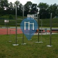 Цвиккау - уличных спорт площадка - Westsachsenstadion