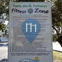 徒手健身公园 - Punta Gorda - Fitness Zone Linear Park
