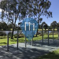 Exercise Stations - Melbourne - Edwardes Park Lake