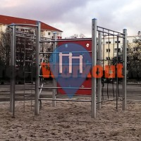 Mannheim - Workout Park Mannheim - Diakonissenkrankenhaus/Pfalzplatz