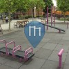 New York City (Brooklyn) - Outdoor Calisthenics Gym - Curtis Playground