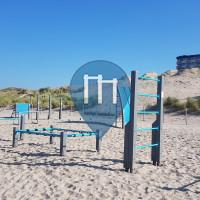 Kijkduin - Calisthenics Geräte - Kijkduin Beach