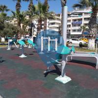 Calisthenics Gym - Kuşadası - Kusadasi park -- Şht. Asteğmen Ahmet Şengülen Parkı
