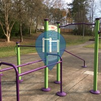 Public Pull Up Bars - Raleigh - Calisthenics Gym Peach Road Park