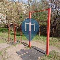 Riga - Outdoor Pull Up Bar - Dārzciems