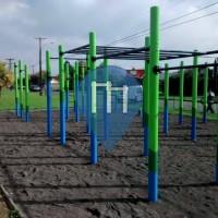 Temuco - Parco Street Workout - Gimnasio Olimpico