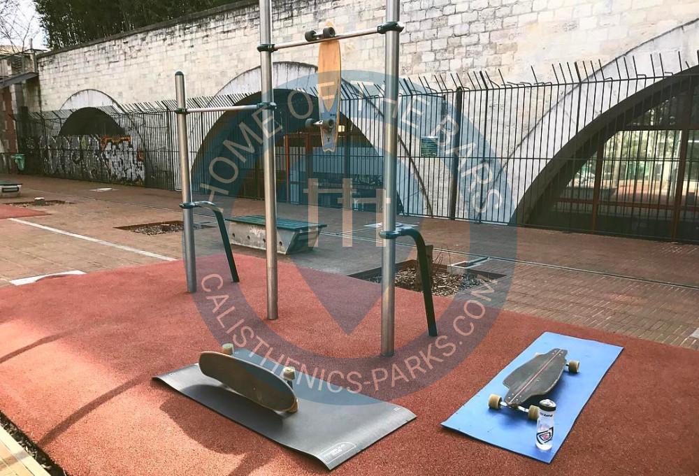 paris parc musculation en plein air jardin hector malot france spot. Black Bedroom Furniture Sets. Home Design Ideas