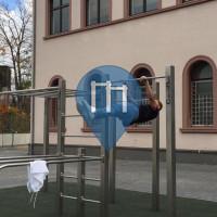 Gießen - Parque Calistenia - Ricarda Huch Schule