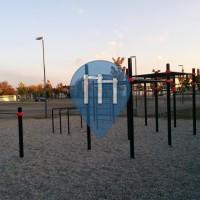 Ichenheim - Воркаут площадка - Realschule / Riedsporthalle - Barmania.Pro