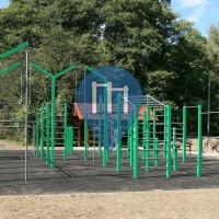 Słupsk - Street Workout Park - Park Kultury