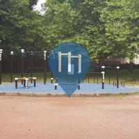 Anderlecht - Parque Calistenia - Parc Crickx