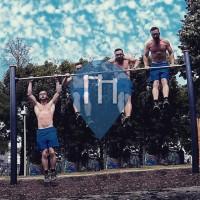 Vienna - Outdoor Gym - Bruno Kreisky Park