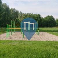Calisthenics Park - Champagné - Outdoor Gym Parc de l'Huisne