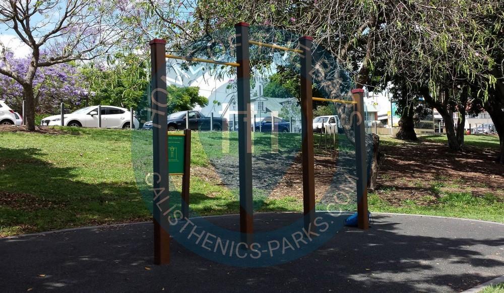 Brisbane outdoor gym victoria park australia spot