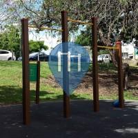 Брисбен - Воркаут площадка - Victoria Park