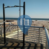 Long Beach - Pull Up Station - Long Beach Fitness Trail