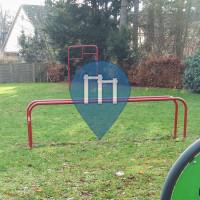 Гамбург - уличных спорт площадка - Fitnesspark Niendorf