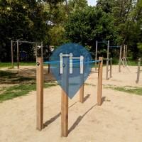 Prague - Street Workout Park - Podvinný mlýn