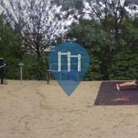 Prague - Outdoor fitness gym - Rajská Zahrada