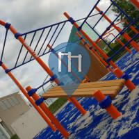 徒手健身公园 - 格羅寧根行政區 - BarMania.Pro Park Hanze Hogeschool
