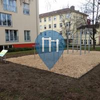 Фрайбург-в-Брайсгау - Воркаут площадка - Stühlinger Wohnheim