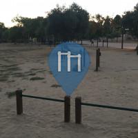 Madrid - Outdoor Fitness Gym - Parque Juan Carlos I