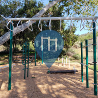 Fallbrook (CA) - Outdoor Exercise Gym - Live Oak Park