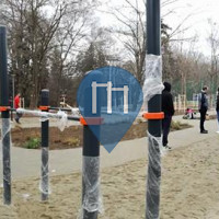 Sibiu (Hermannstadt) - Calisthenics Park - Parcul Sub Arini