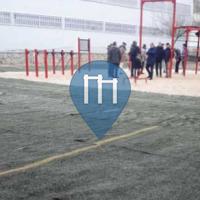 Parque Street Workout - Ávila - Outdoor Fitness Parque de la toledana