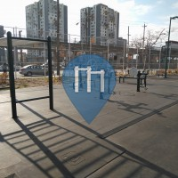 New York City - Public Fitness Park - Cardozo Playground