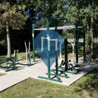 Outdoor-Fitnessstudio - Spring - Cypress Creek Park