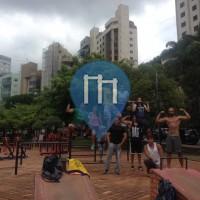 Belo Horizonte  - Street Workout Anlage - Parque Juscelino Kubitschek