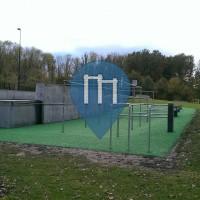 Rotterdam - Parkour Anlage - Sportplaza