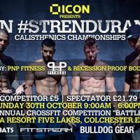 ICON #strendurance Calisthenics Championships