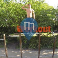 Brussels - Outdoor Pull Up Bars - Georges Henri Park