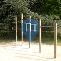 Noisy le Grand - 户外单杠 - Parc du Tremblay