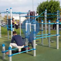 уличных спорт площадка - Карнате - Outdoor Fitness Carnate