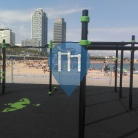 Barcelona Beach - Street Workout Park Spain