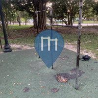 Exercise Park - Miami Beach - North Shore Open Space Park Bars