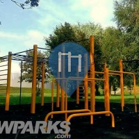 Cracovia - Parco Calisthenics - Park Lotnikow Polskich