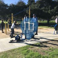 Arcadia - Outdoor Exercise Corner - Arcadia Park