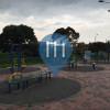 Bogotá -  Parc Musculation en plein air - Parque Ciudad Berna