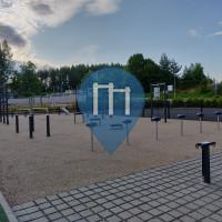 Gimnasio al aire libre - Lahti - Länsiharju calisthenics gym