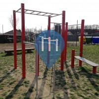 Римавска-Собота - Воркаут площадка - Street workout park Rimavská Sobota