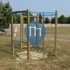 Reggio nell'Emilia - уличных спорт площадка - Parco della Resistenza