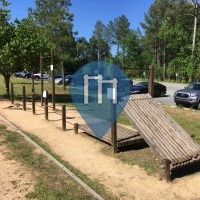 Street Workout Park - Durham - American Tobacco Trail at Scott King Rd.