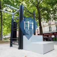 Paris - Parcours Sportif - Paris 11 - Aire de fitness en accès libre