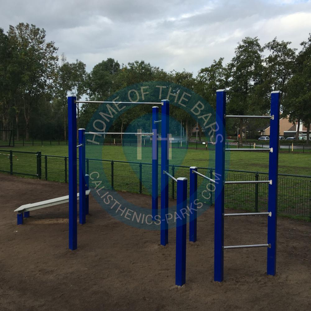 Warriors Path State Park Playground: Calisthenics Station