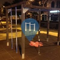 Воркаут площадка - Севилья - Parque el Podenco, Bermejales